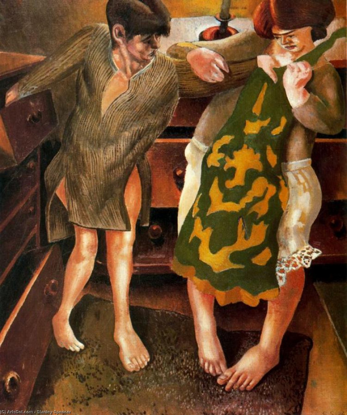Choisir un Petticoat de Stanley Spencer (1891-1959, United Kingdom)