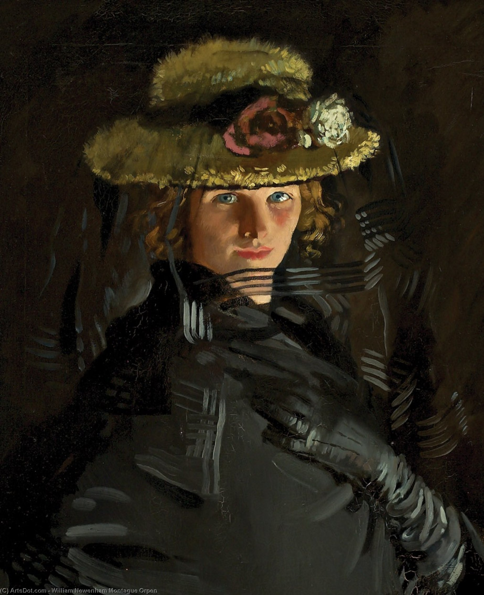 Portrait de La grâce ( Le Artist's 1st Épouse ), 1907 de William Newenham Montague Orpen (1878-1931, Ireland)