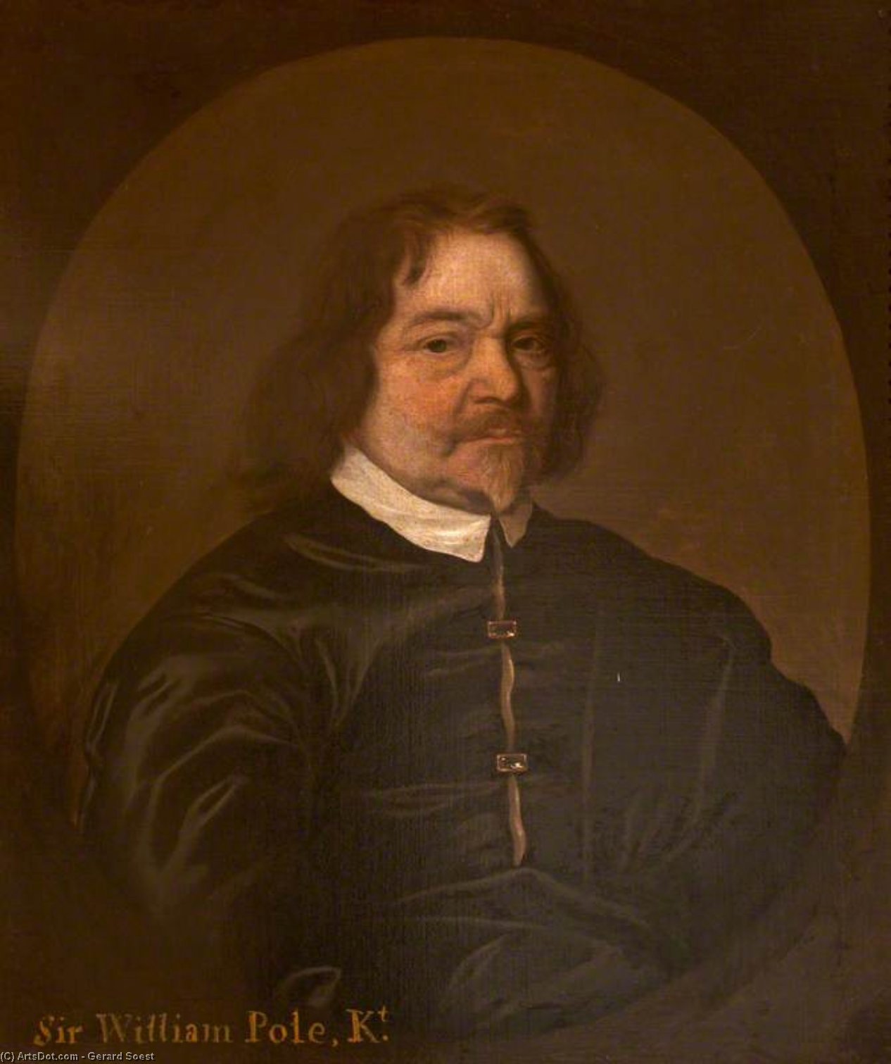 Monsieur william pieu de Gerard Soest (1600-1681, Germany)