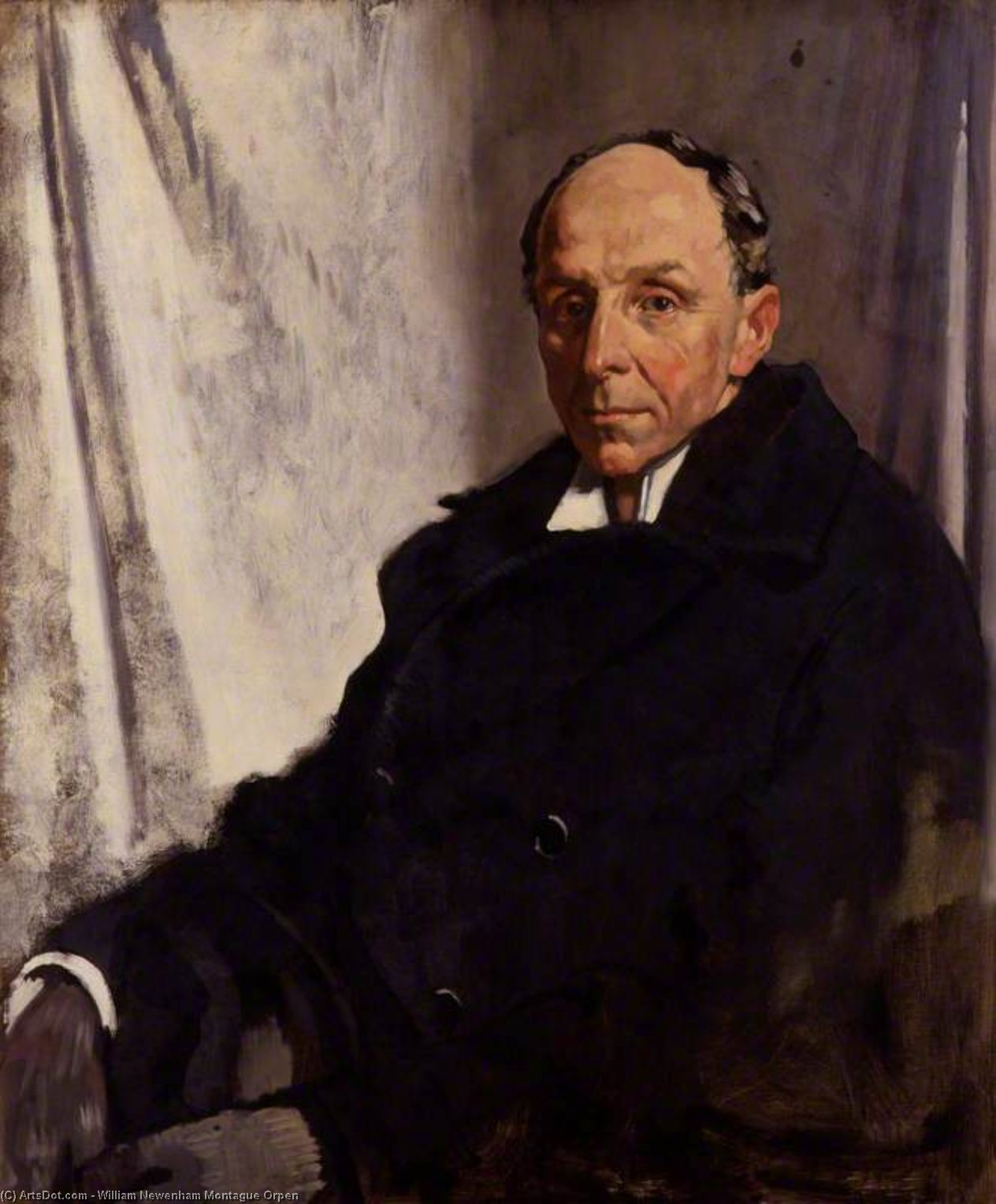edgar algernon robert Gascoyne-cecil , 1st Vicomte cecil of chelwood de William Newenham Montague Orpen (1878-1931, Ireland)