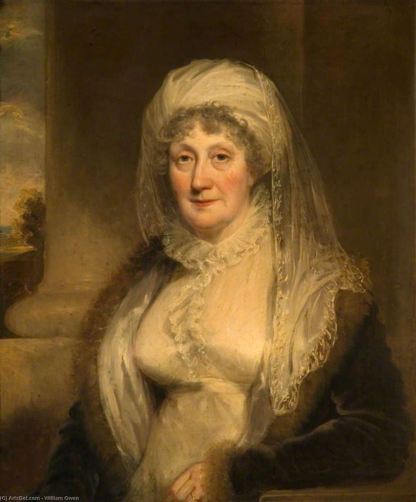 Elizabeth Moineau de bishton Salle de William Owen (1769-1825, United Kingdom) | ArtsDot.com