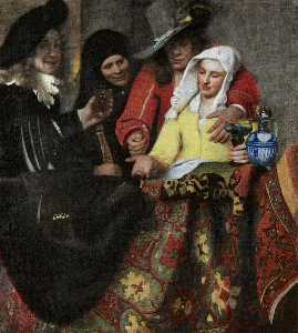Jan Vermeer - L entremetteuse