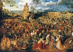 Pieter Bruegel The Elder - christ portant la croix