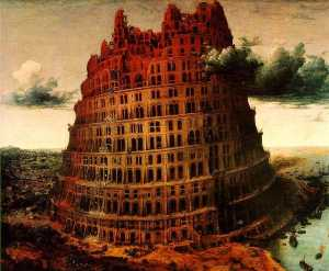 Pieter Bruegel The Elder - Le \ Petit \ Tour de Babel