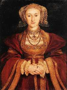 Hans Holbein The Younger - portrait de anne de cleves
