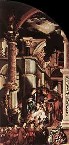 Hans Holbein The Younger - Le Oberried Retable droit  aile