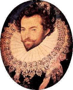 Nicholas Hilliard - Monsieur walter raleigh