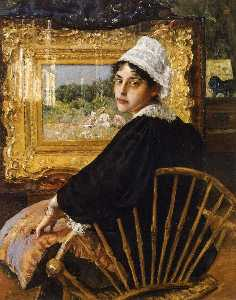 William Merritt Chase - un étude alias  au  L épo..