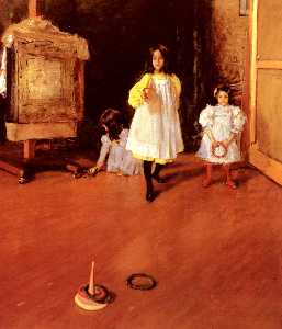 William Merritt Chase - Anneau Toss