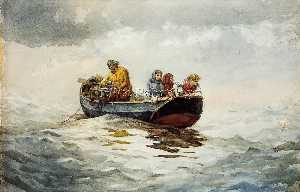 Winslow Homer - crabe pêche