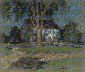 Willard Leroy Metcalf - clair de lune
