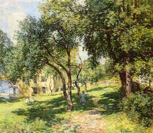 Willard Leroy Metcalf - le chemin