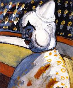 Auguste Chabaud - le clown