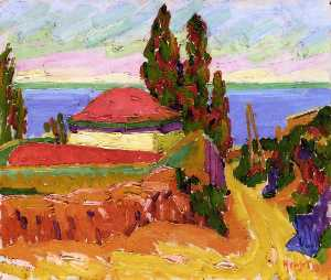 Auguste Herbin - corse paysage