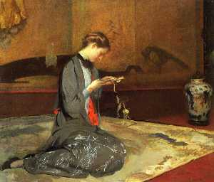 Edmund Charles Tarbell - Coupe Origami