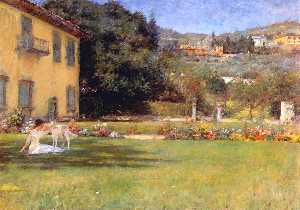 William Merritt Chase - bonne amis