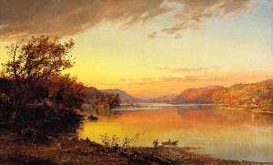 Jasper Francis Cropsey - Greenwood Lac , new jersey