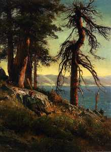 Thomas Hill - lac tahoe ( aussi connu comme ..