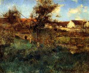 Willard Leroy Metcalf - Paysage