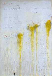 Cy Twombly - quattro stagioni , Domaine