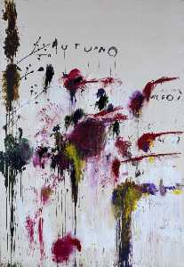 Cy Twombly - quattro stagioni , Autunno