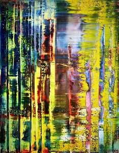 Gerhard Richter - Toile abstraite 780-1