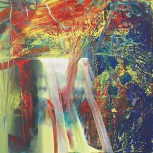 Gerhard Richter - Toile abstraite 610-1