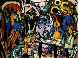 Max Beckmann - Bird's enfer