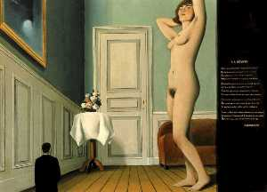 Rene Magritte - Le giantess