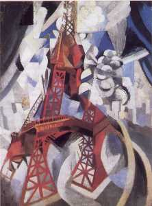 Robert Delaunay - le rouge tour