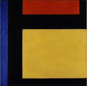 Theo Van Doesburg - Compteur composition x