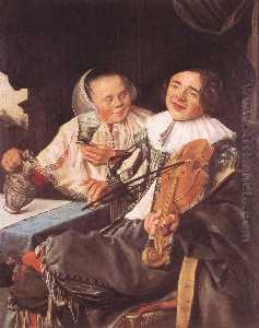 Judith Leyster - beuveries couples