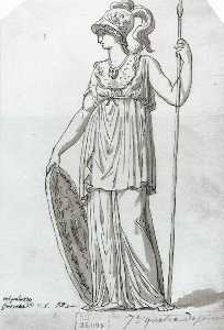 Jacques Louis David - Minerva