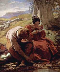 William Mulready The Younger - le sonnet