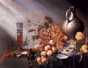 Harmen Steenwijck - nature morte de  fruits  ..