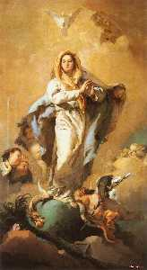 Giovanni Battista Tiepolo - L Immaculée Conception