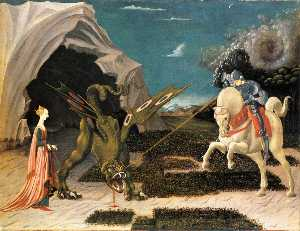 Paolo Uccello - St . george et le dragon