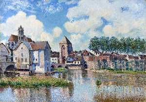 Alfred Sisley - Moret-sur-Loing