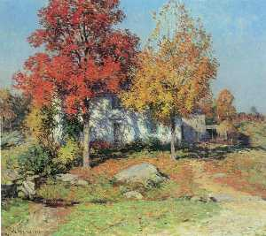 Willard Leroy Metcalf - octobre