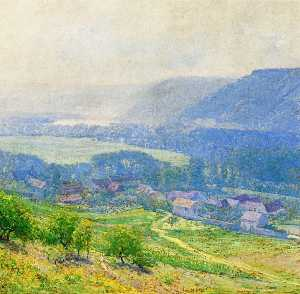 Guy Orlando Rose - le saine Vallée , Giverny