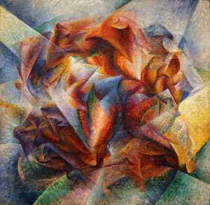 Umberto Boccioni - Football ( également conn..