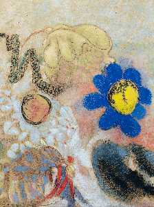 Odilon Redon - subaquatique Flore