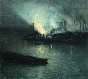 Aaron Harry Gorson - pittsburgh industrial nocturne