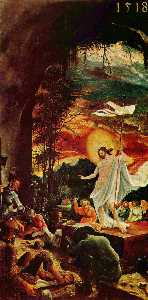 Albrecht Altdorfer - résurrection du christ