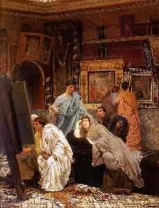 Lawrence Alma-Tadema - Une Collection de Tableau..