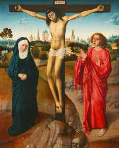 Dieric The Younger Bouts - Crucifixion