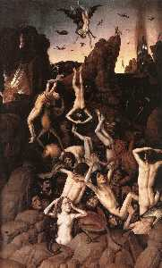 Dieric The Younger Bouts - Enfer
