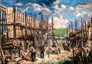 Francis Henry Newbery - construction navale