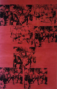 Andy Warhol - Riot Race Rouge