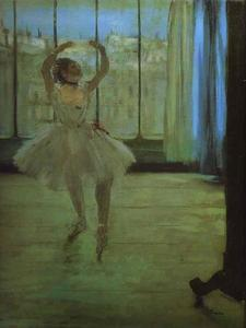 Edgar Degas - Danseuse au Photographer-s